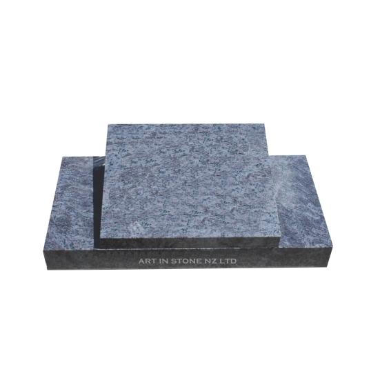 Visaq Blue Granite Recumbent Desk headstone